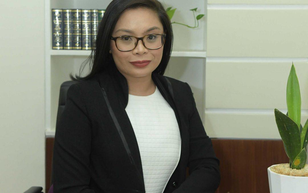 Kristina Grumo Tan Valdez, A.B.,  Ll.B., REB